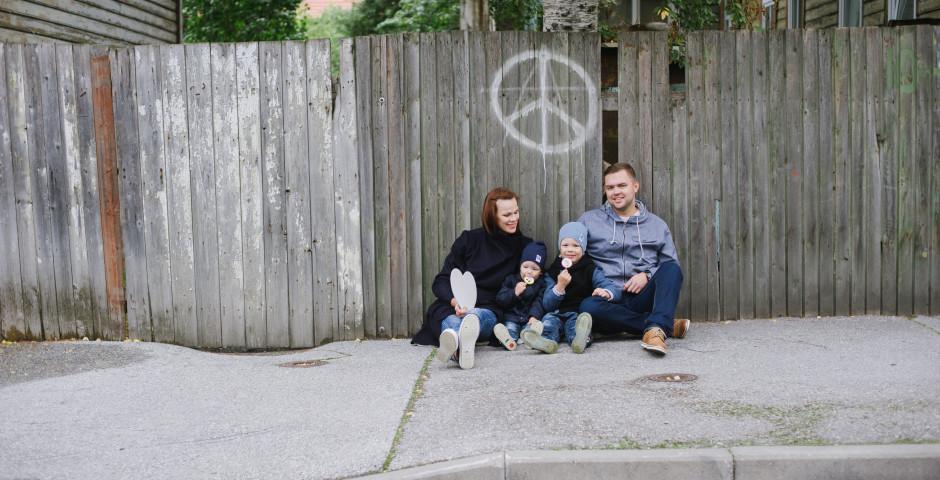 Uus blogis: Eveli ja Risto pere